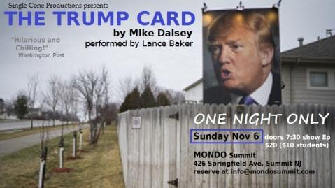 A Superfan erects a Trump billboard in his backyard in West Des Moines, Iowa.